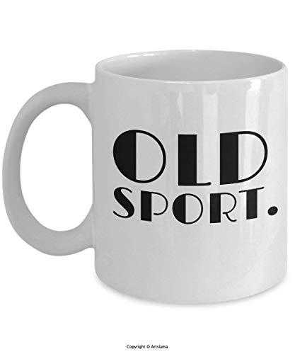 itzgerald - Old Sport - Jazz Age Deco 11oz Ceramic Coffee Mug ()