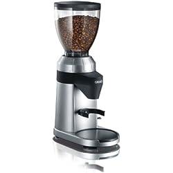 Graef CM800 - Molinillo de café, potencia de 128 W, color plateado