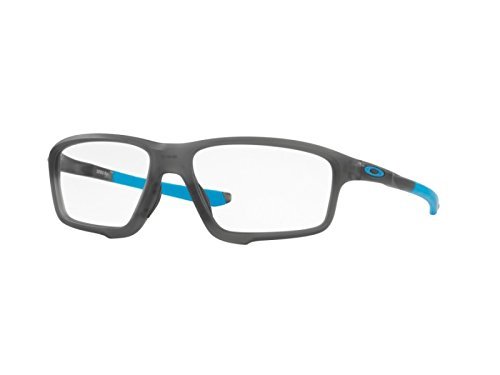 Oakley - CROSSLINK ZERO OX 8076, Sportbrille, [nd], Herrenbrillen, SATIN GREY SMOKE(8076-01), 56/16/138