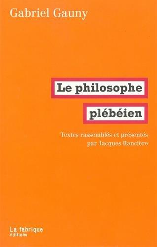 Le philosophe plbien