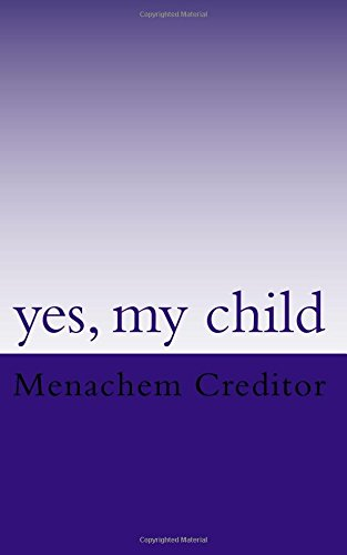 Yes, my child: poems