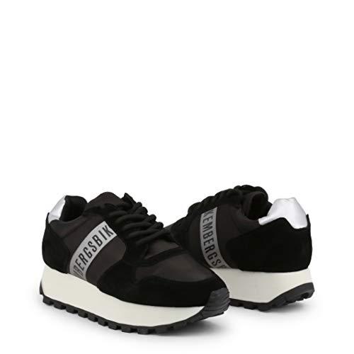 Bikkembergs Scarpe Basse Sneakers Donna Nero (Fend-ER_2087)