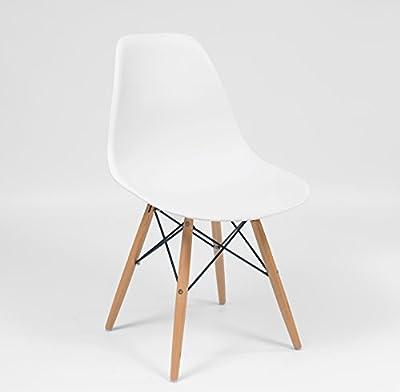 Silla de cocina / comedor , Inspiración silla Tower de Eames Polipropileno.