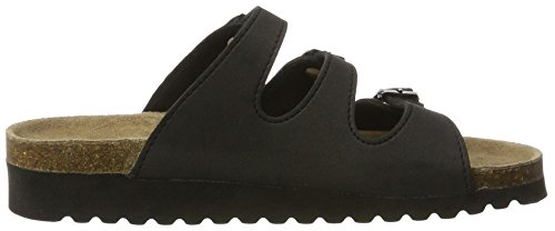 Softwaves 275 049, Mules Femme Schwarz (Black)