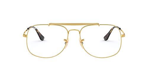 Ray-Ban Herren 0rx 6389 2500 57 Brillengestell, Gold