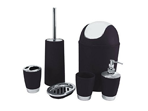 black bathroom accessories amazoncouk