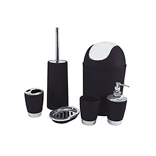 black bathroom accessories amazoncouk - Black Bathroom Accessories Uk