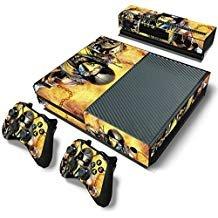 FriendlyTomato Skin für Xbox One Konsole und Controller (Motiv: Kombat Duel, Playstation 4, Vinyl)