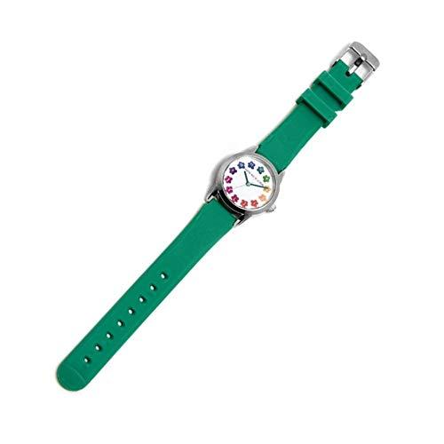 Agatha Ruiz de la Prada Armbanduhren Kinder und Jugendliche Analog Japanisches Quarzwerk Silikonband AGR258