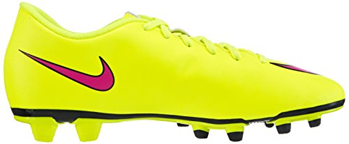 Nike Mercurial Vortex Ii Fg, Chaussures de Football Homme Jaune (volt/hyper Pink-black 760)