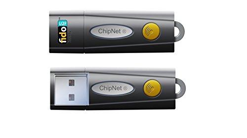 ChipNet Fido U2F Basic - Llave de Seguridad USB para verificación en