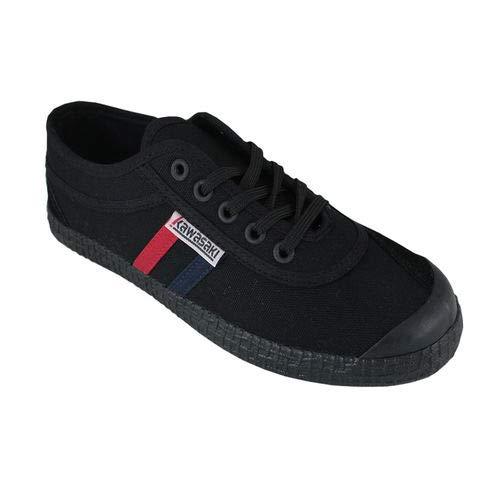 Kawasaki Unisex Retro Canvas Shoe Solid Black, Black,...