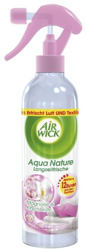 Air Wick Aqua Nature Spray Magnolie & Kirschblüte, 4er Pack (4x345ml)