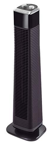 Rowenta VU6140 Classic Tower Turmventilator, leise, Ventilator, 3 Geschwindigkeitsstufen, mit Timer -