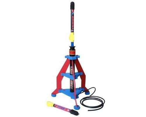 Air Burst Air Powered Rocket with Launcher  available at amazon for Rs.4449