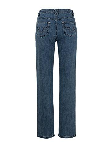 Million X Femme Jeans nouvelle Linda basique mid stone denim