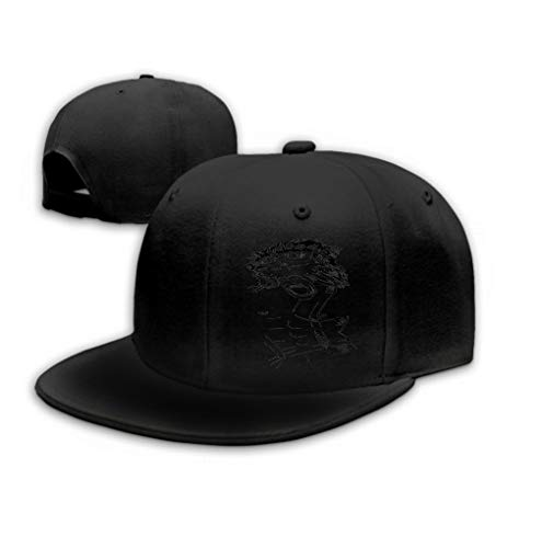 Unisex Trucker Hat Cap Cotton Adjustable Baseball Dad Hat Aggressive Gorilla Electric Elements Black
