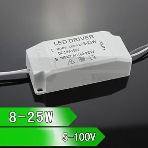SLB Works Brand New 8-25x1w High Power LED Driver Constant Current Power Supply