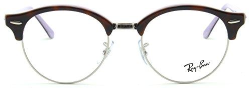 Ray-Ban RX4246V Clubround Optics Prescription Eyeglasses 5240 - 49