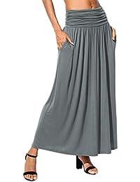 7845287347a49 Suchergebnis auf Amazon.de für: maxirock grau - Plissee / Röcke ...