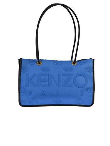 KENZO BORSA SHOPPING DONNA F752SA405F0967 POLIURETANO BLU