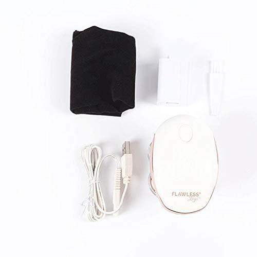 jichui23894 Elektrorasierer mit drahtlosem elektrischem Rasierer Wasserdicht Haarentfernungsgerät