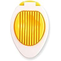 Wanlianer Cortador de Huevos Rebanador de Huevos, Cortador de Huevos cocidos, línea de Corte de Acero Inoxidable, rebanador Multiusos Rebanador