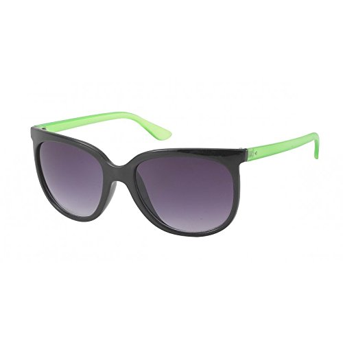 Chic-net lunettes de soleil style nerd pour femme style wayfarer uV 400 cateye verres teinte marron Multicolore Multicolore QmkEG7