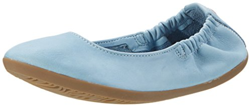 Softinos Ona380sof, Ballerines Femme Turquoise (Pastel Blue)