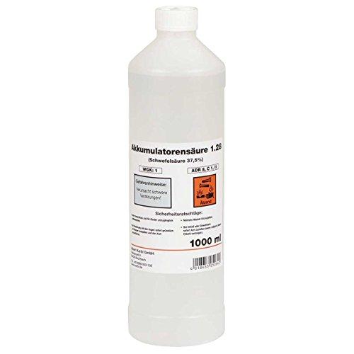 Batteriesäure 1 Liter Typ 1,28