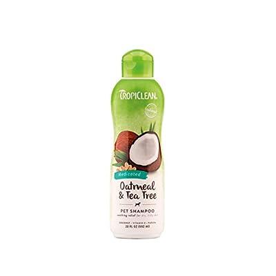 Tropiclean Medicated Oatmeal Shampoo, 20 oz/ 592 ml by Tropiclean