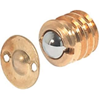 Ball Catches Brass Plated 12mm, Free Shipping (Fixit Hardware)