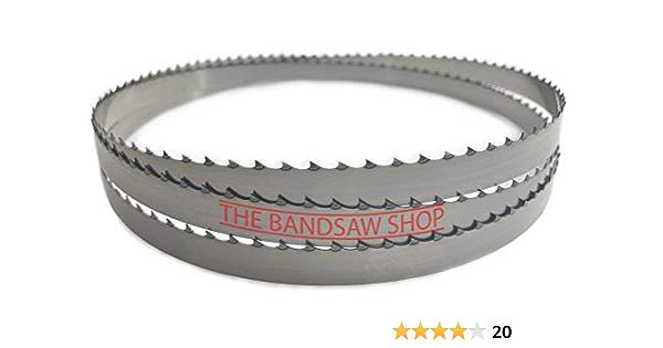 1//4 pouces ou 6 mm Scie À Ruban Lame 2096 mm et 14 TPI pour feuille de métal et coupe de bois