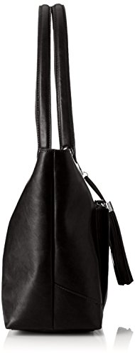 Tamaris - Melanie Shopping Bag, Borse a secchiello Donna Nero (Black)