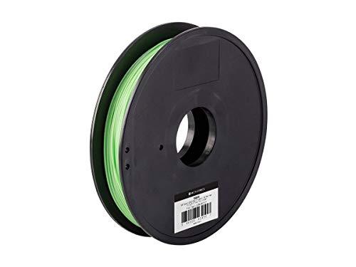 Monoprice MP Select ABS Plus + Filamento 3D Premium - Pico verde, 0.5 kg, 1.75 mm de espesor, 40% más resistente que el filamento de ABS ordinario