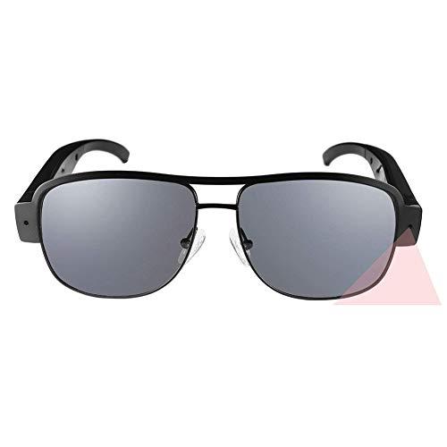OOLIFENG Versteckte Spion Sonnenbrille, HD 1080P Mini Kamera Brille Mit DV-Camcorder Videorecorder Zum Männer