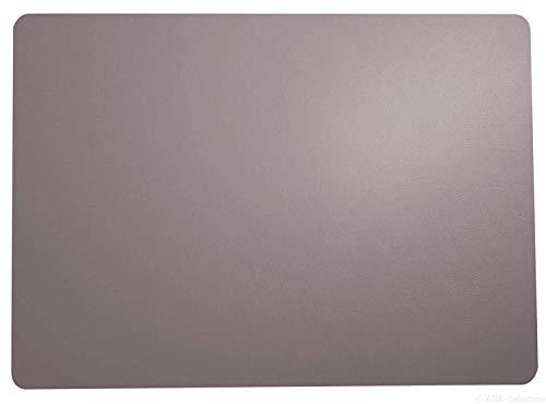 ASA Leder Tischset, Lavande 46 x 33 cm, Lederoptik -