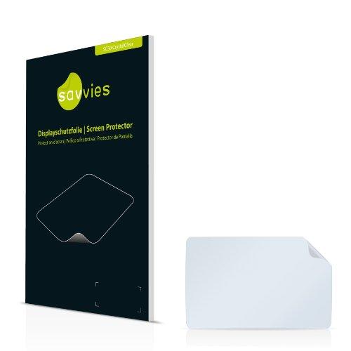 Savvies SC50 Displayschutzfolie passend für Navigon 7210 Schutzfolie Folie