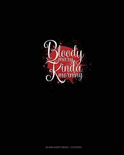 rning: Blank Sheet Music - 12 Staves ()