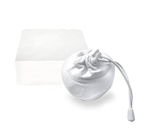 gymadvisor REFILLABLE CHALK BAG calisthenics gymnastics climbing rock pouch gym sock - Includes 1 block of chalk