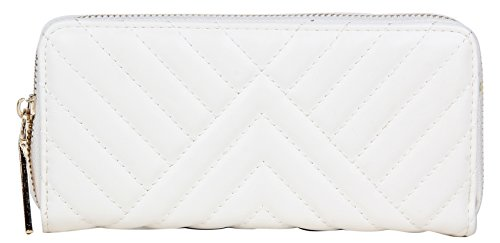 Lino Perros Women's Wallet (White)  available at amazon for Rs.397