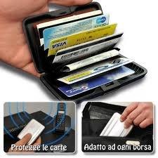 b2650ca1ac Porta carte credito / tessere PORTAFOGLIO UOMO DONNA PORTA TESSERE ...