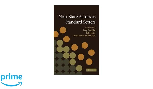 Non-State Actors as Standard Setters