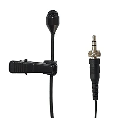Pro Lavalier Lapel Microphone Microdot 6016 For SENNHEISER Wireless Transmitter - Omni-directional Condenser Mic