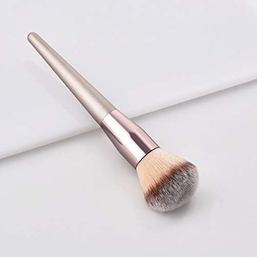 PInerxuz - Women's Fashion Brushes 1PC Wooden Foundation Cosmetic Eyebrow Eyeshadow Brush Makeup Brush Sets Tools Pincel Maquiagem[A]