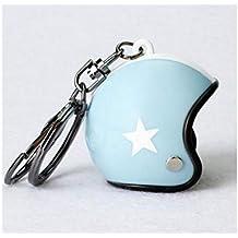 Yhcean Creativo Sombrero de Moto de Estrella de Cinco Puntas Casco de Moto de Caballero y