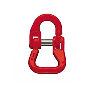 All Material Handling CLS10 Webbing Coupling Link, G80 Alloy Chain Fittings, 3/8