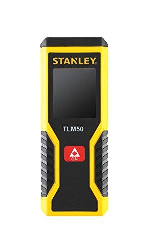 Stanley TLM50 Distanziometro laser 15m Nero, Rosso, Giallo