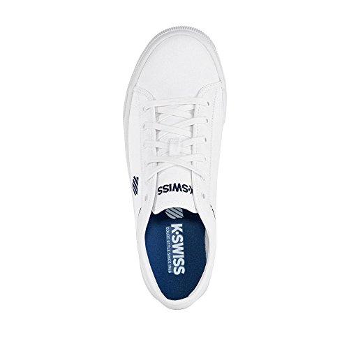 K-Swiss Unisex-Erwachsene Bridgeport Ii Sneakers Weiß/Blau