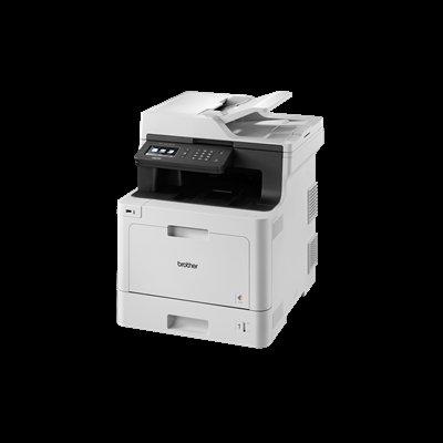 Brother DCP-L8410CDW -Impresora multifunción láser Color Profesional 3 en 1 (impresión, Copia y escaneado, Alta Velocidad, WiFi, impresión a Doble Cara, LCD)